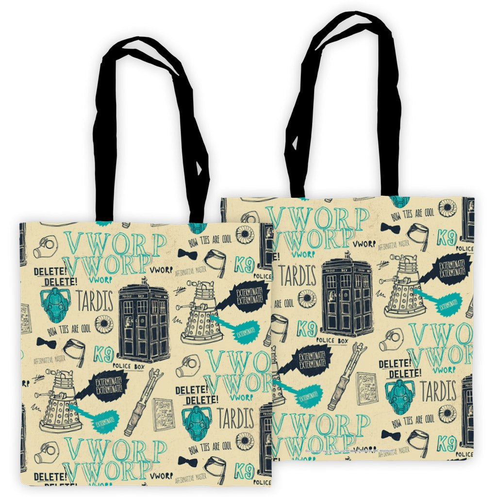 Who Handmade Elements Edge to Edge Tote