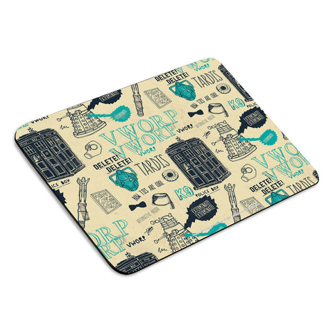 Who Handmade Elements Mousemat