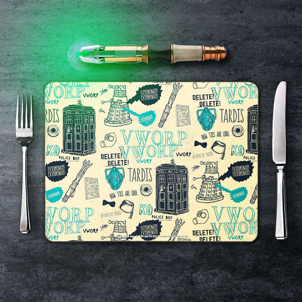 Who Handmade Elements Placemat (Lifestyle)