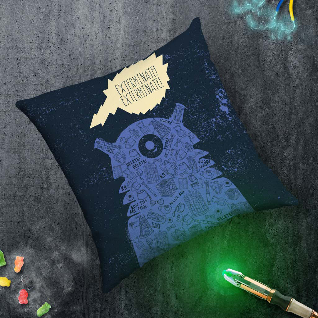 Who Home Handmade Dalek Cushion (Lifestyle)