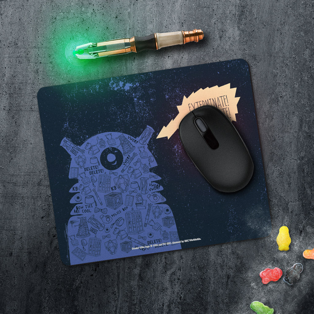 Who Home Handmade Dalek Mousemat (Lifestyle)