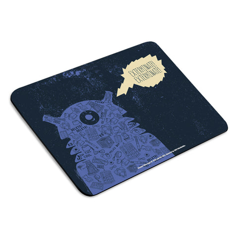 Who Home Handmade Dalek Mousemat