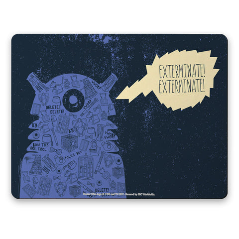 Who Home Handmade Dalek Placemat
