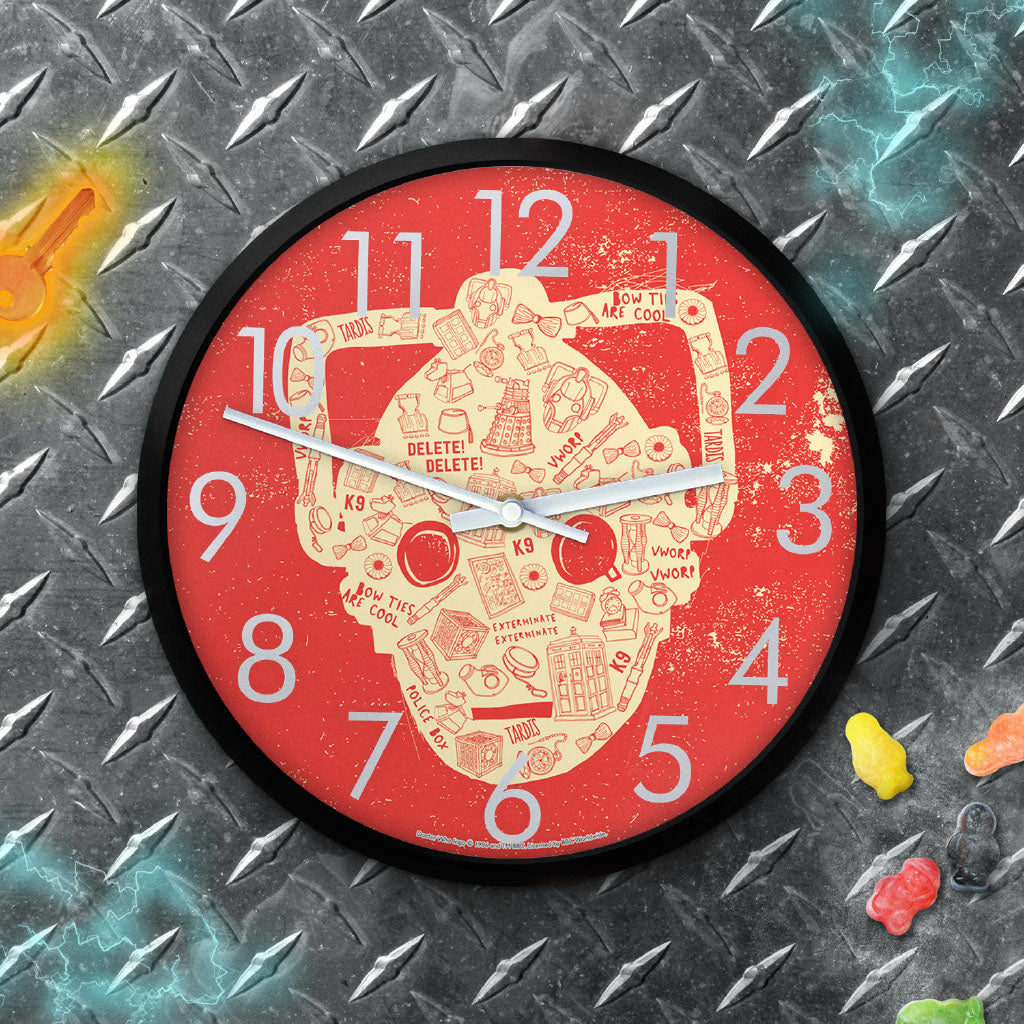 Who Home Handmade Cyberman Clock (Lifestyle)