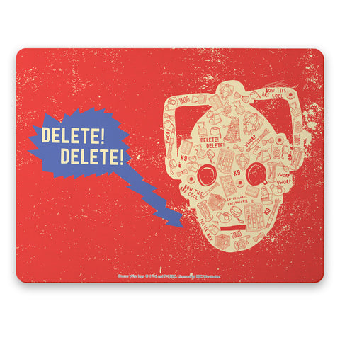 Who Home Handmade Cyberman Placemat