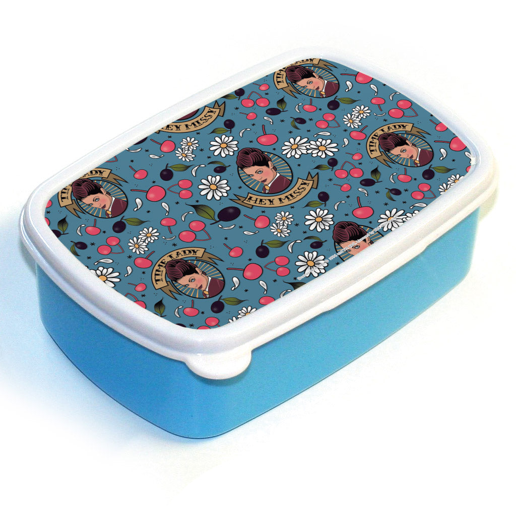 Pinup Time Lady Pattern Lunchbox