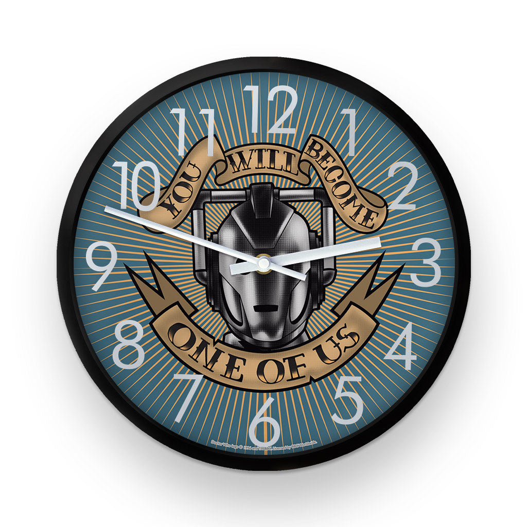 Pinup Cyberman Clock