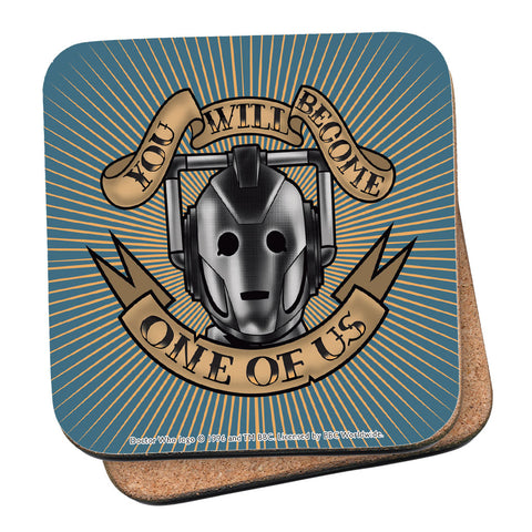 Pinup Cyberman Coaster