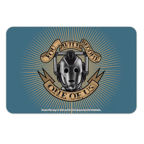 Pinup Cyberman Door Plaque