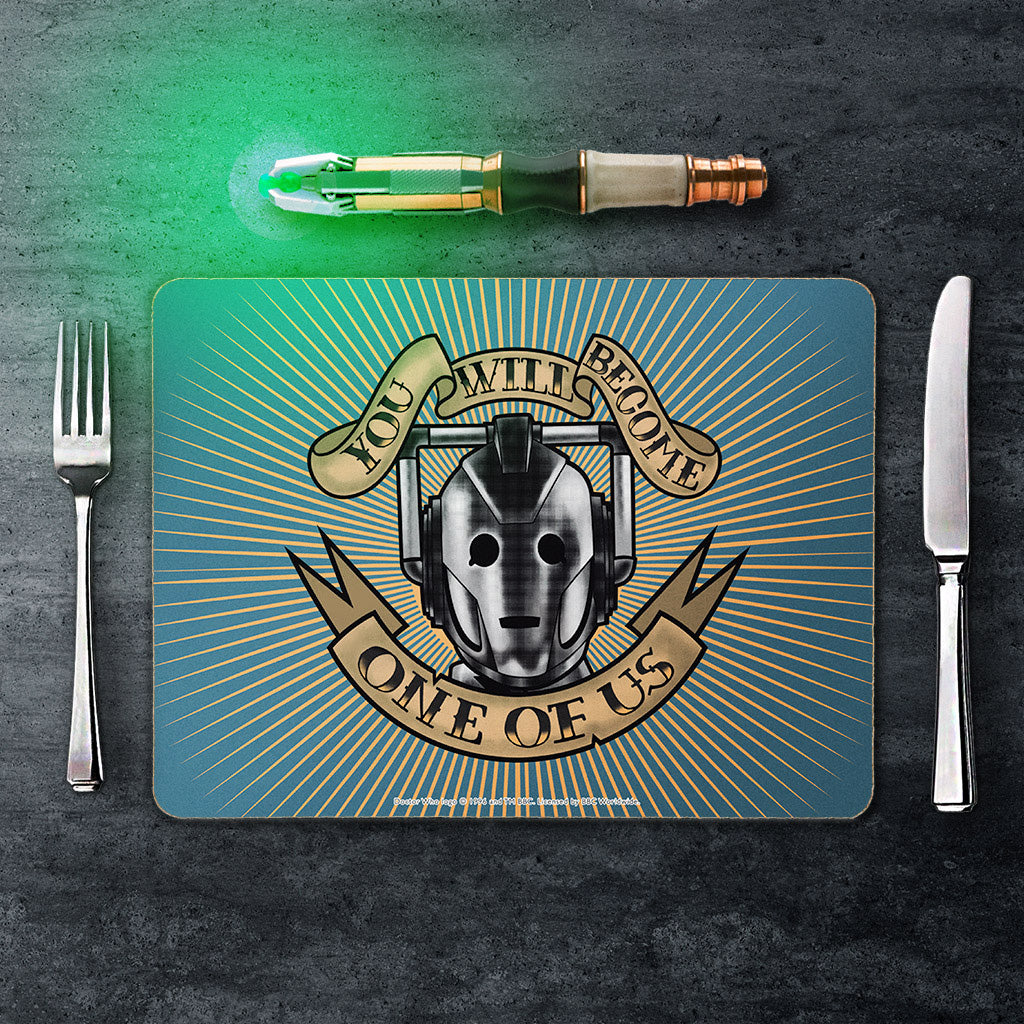 Pinup Cyberman Placemat (Lifestyle)