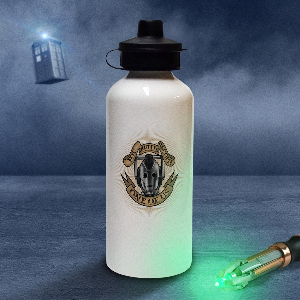 Pinup Cyberman Water Bottle (Lifestyle)