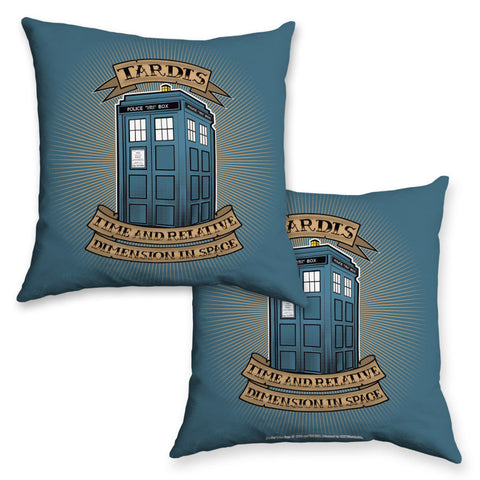Pinup Tardis Cushion
