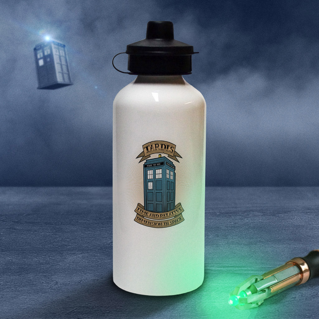 Pinup Tardis Water Bottle (Lifestyle)