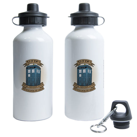 Pinup Tardis Water Bottle