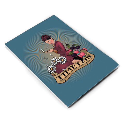 Pinup Time Lady A5 Notepad