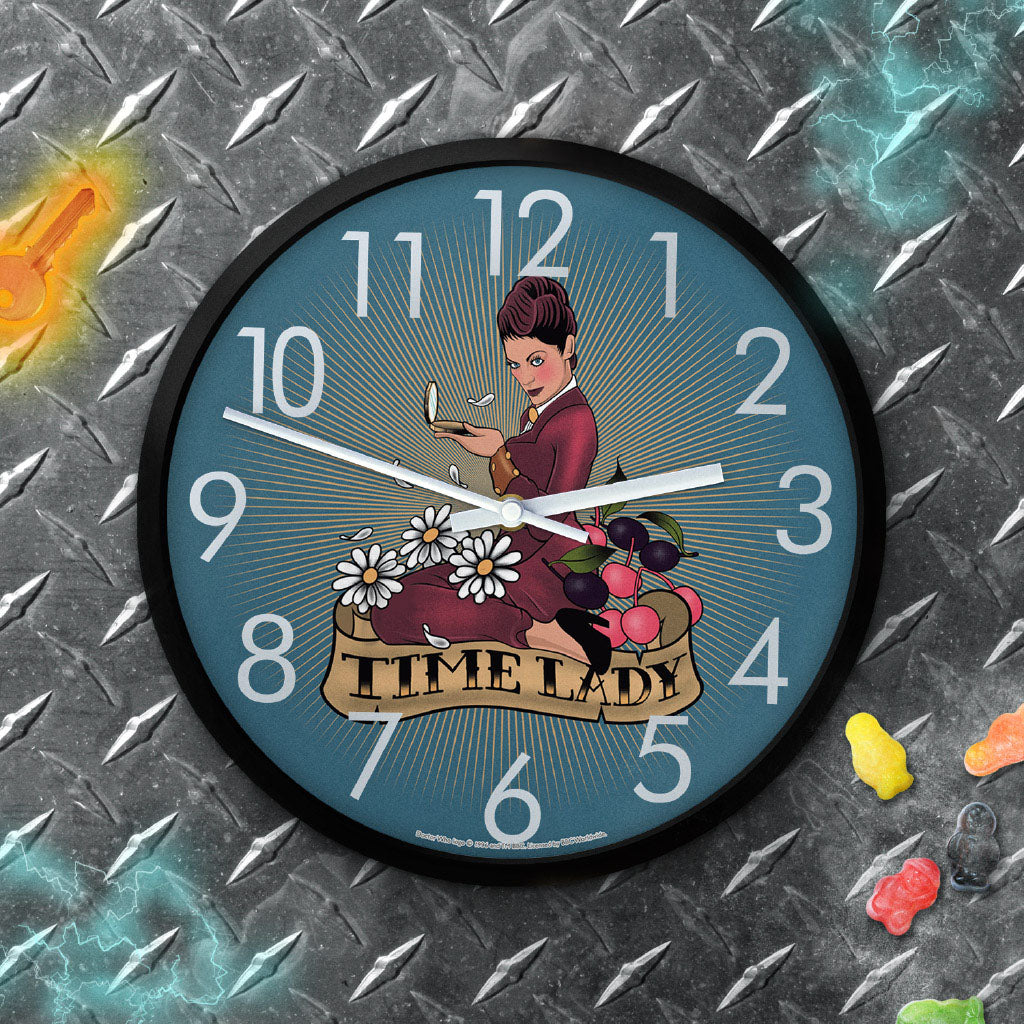 Pinup Time Lady Clock (Lifestyle)