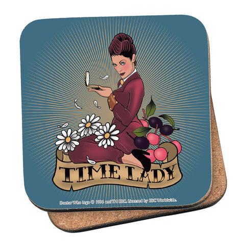 Pinup Time Lady Coaster