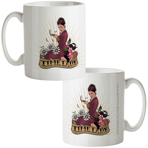 Pinup Time Lady Mug