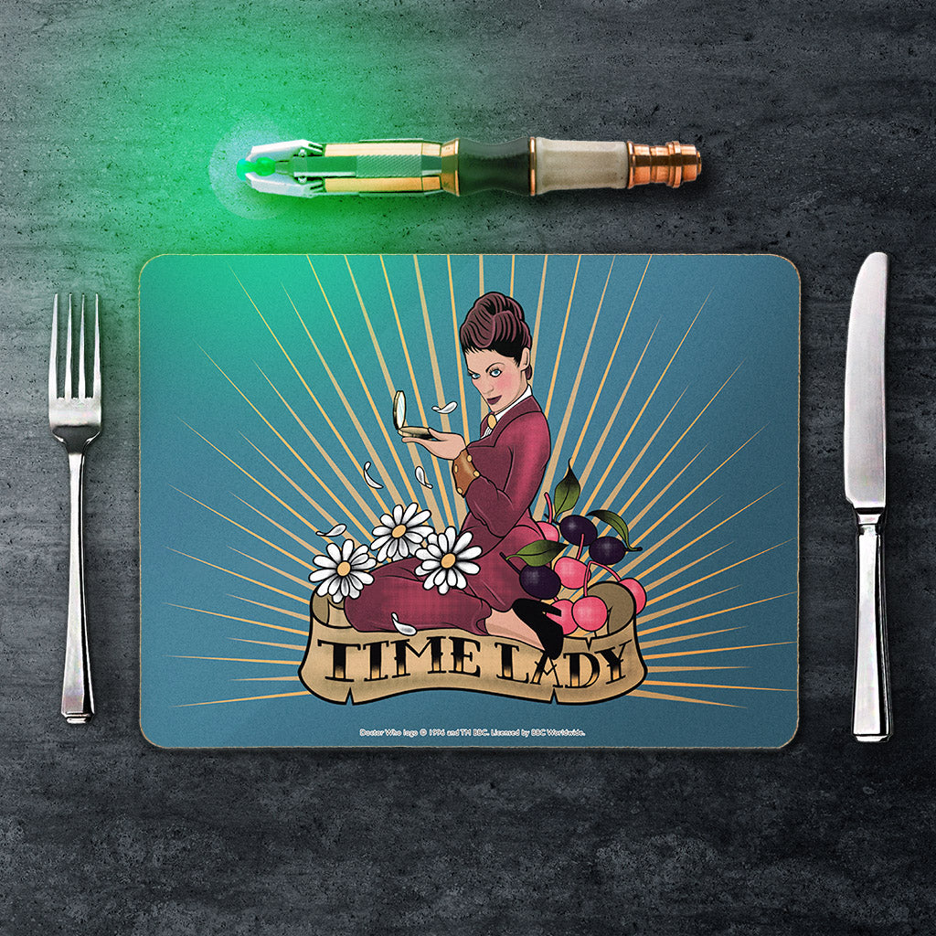 Pinup Time Lady Placemat (Lifestyle)