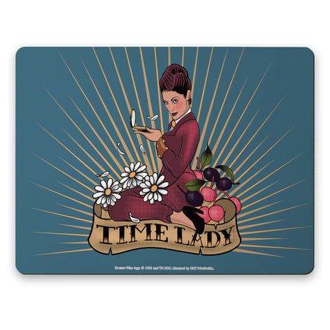 Pinup Time Lady Placemat