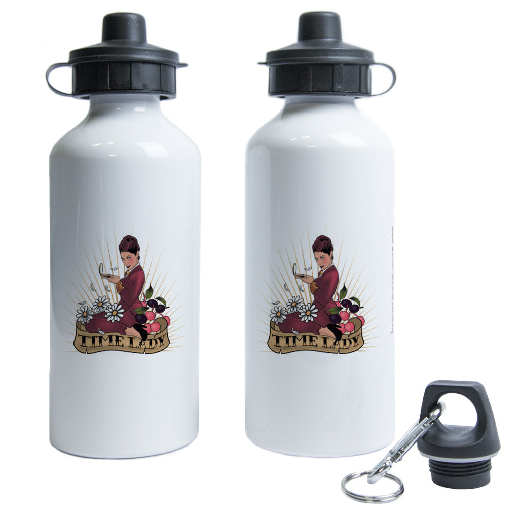 Pinup Time Lady Water Bottle