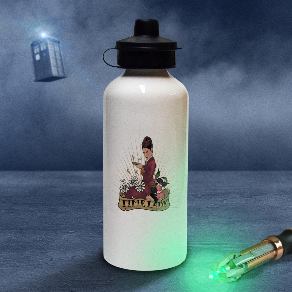 Pinup Time Lady Water Bottle (Lifestyle)