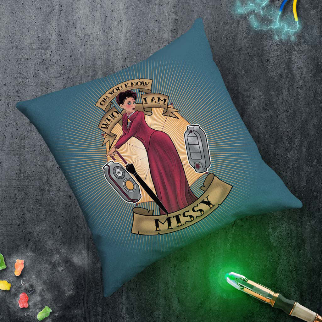 Pinup Missy Cushion (Lifestyle)