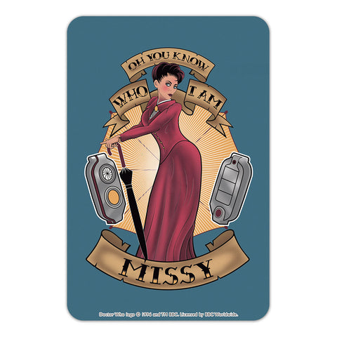 Pinup Missy Door Plaque