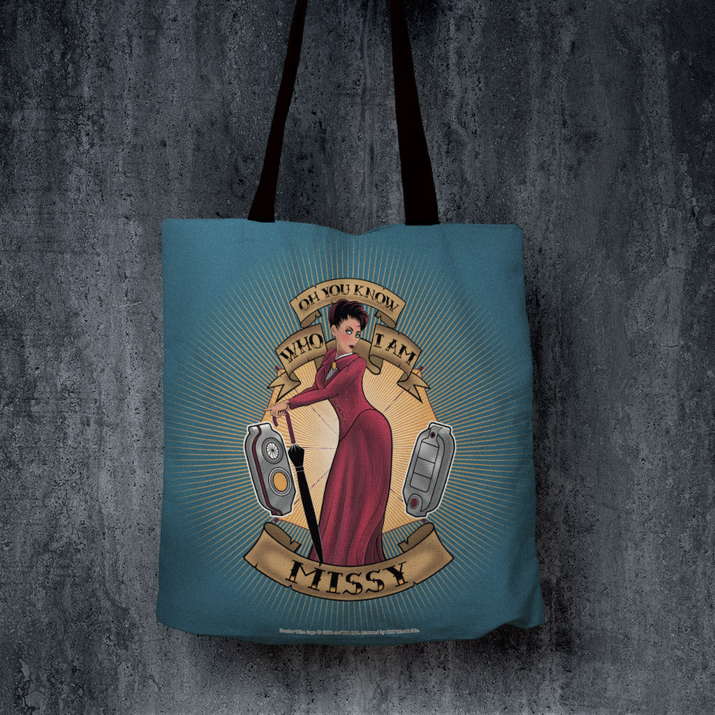 Pinup Missy Edge to Edge Tote (Lifestyle)