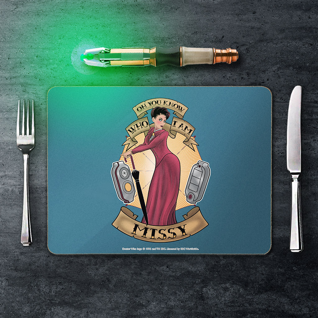 Pinup Missy Placemat (Lifestyle)