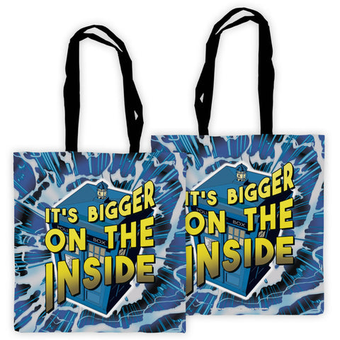 It's bigger on the inside Edge to Edge Tote