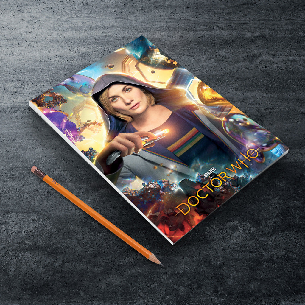 Thirteenth Doctor Hood A5 Notepad (Lifestyle)