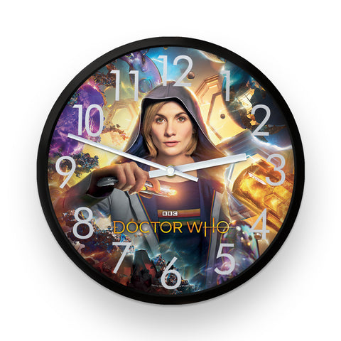 Thirteenth Doctor Hood Clock