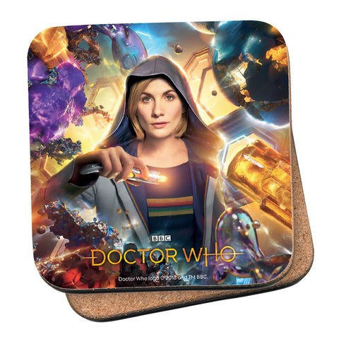 Thirteenth Doctor Hood Coaster