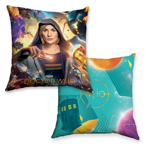Thirteenth Doctor Hood Cushion