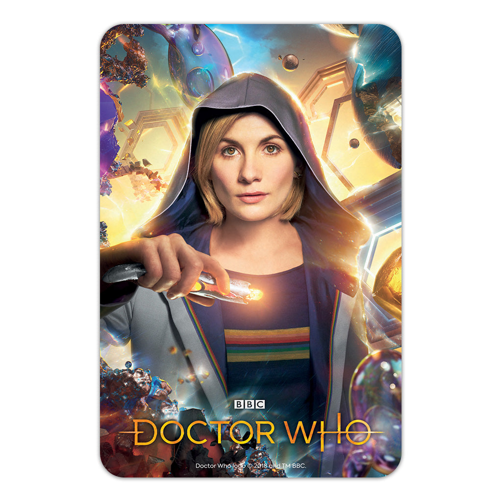 Thirteenth Doctor Hood Door Plaque