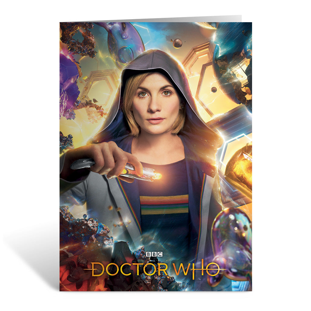 Thirteenth Doctor Hood Greeting Card