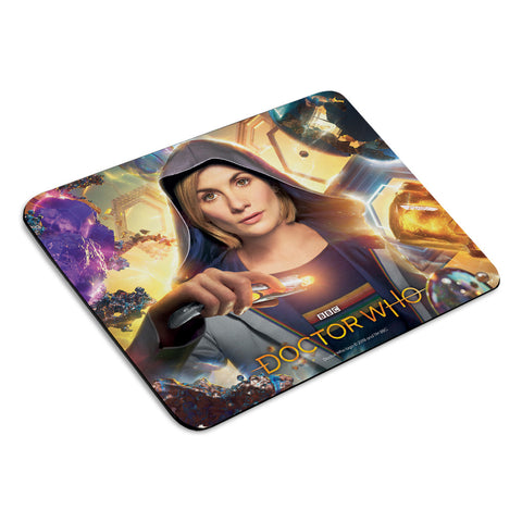 Thirteenth Doctor Hood Mousemat