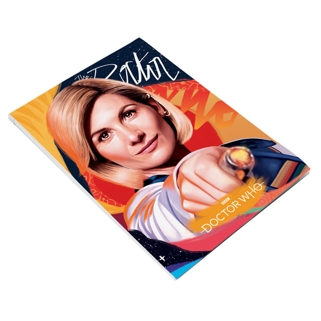 Thirteenth Doctor Sonic Screwdriver A5 Notepad