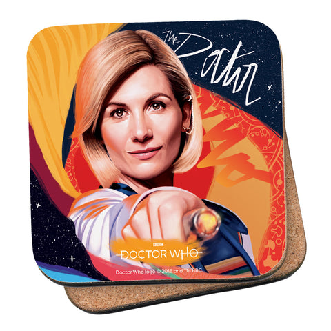 Thirteenth Doctor Sonic Screwdriver Coaster