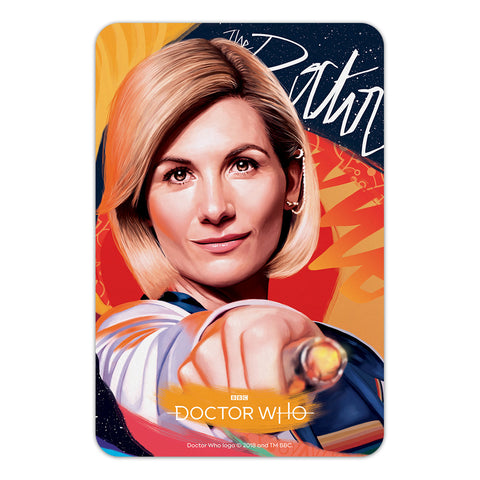 Thirteenth Doctor Sonic Screwdriver Door Plaque