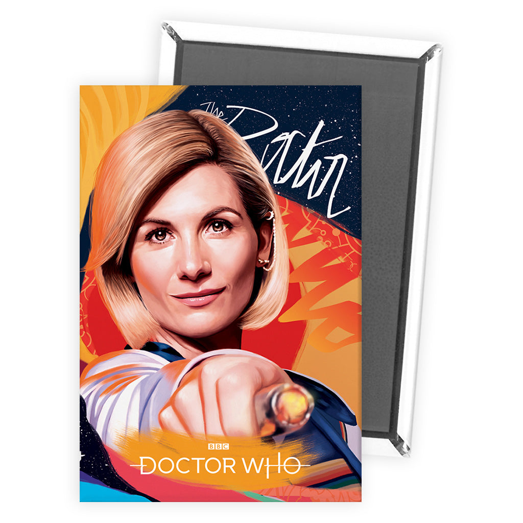 Thirteenth Doctor Sonic Screwdriver Magnet
