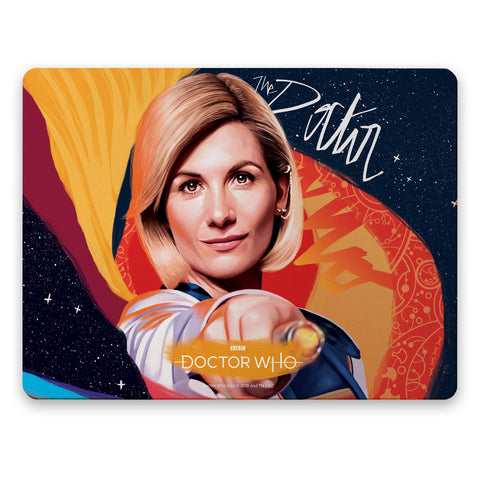 Thirteenth Doctor Sonic Screwdriver Placemat