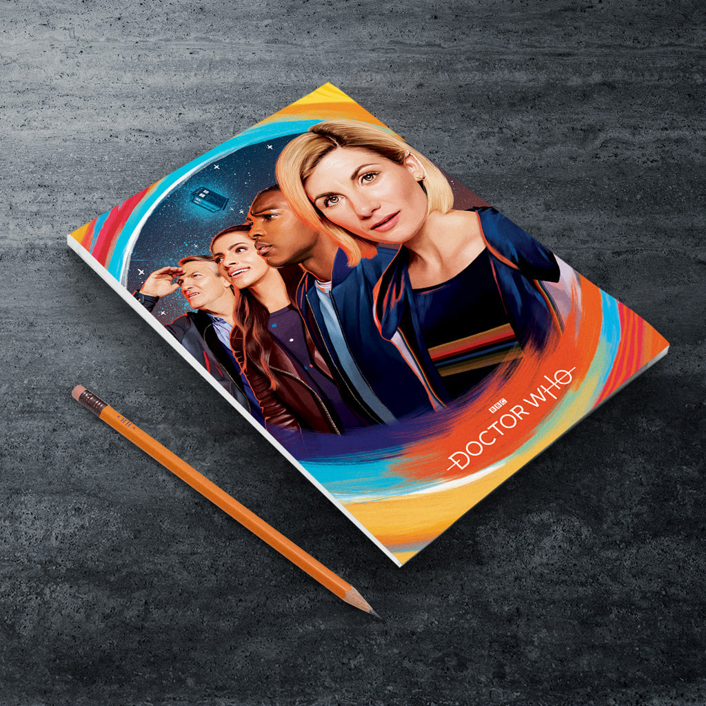 Thirteenth Doctor Group A5 Notepad (Lifestyle)