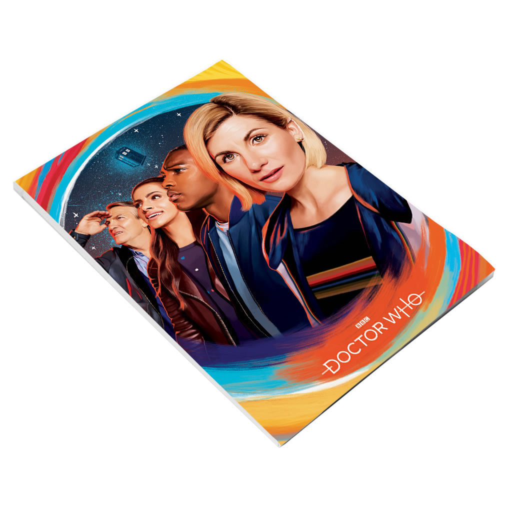 Thirteenth Doctor Group A5 Notepad