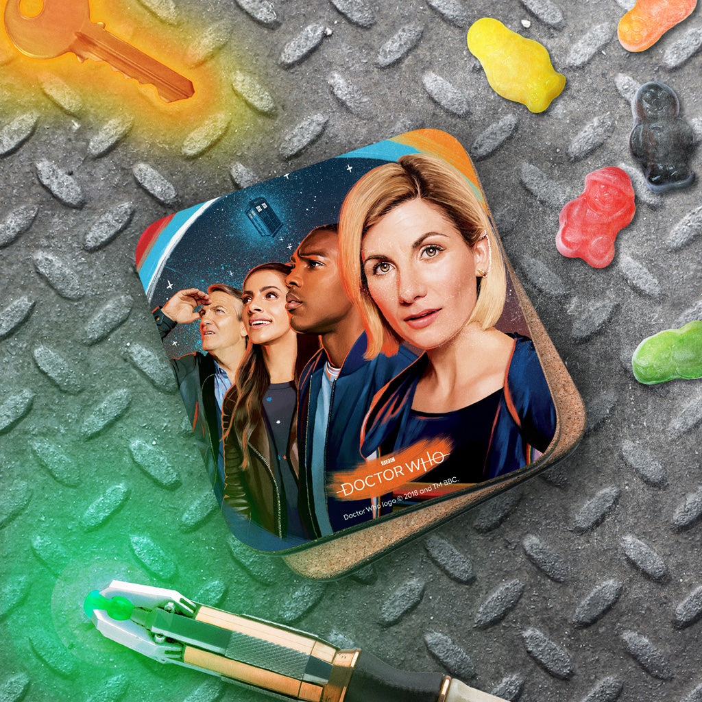 Thirteenth Doctor Group Coaster (Lifestyle)