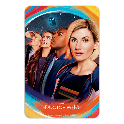 Thirteenth Doctor Group Door Plaque
