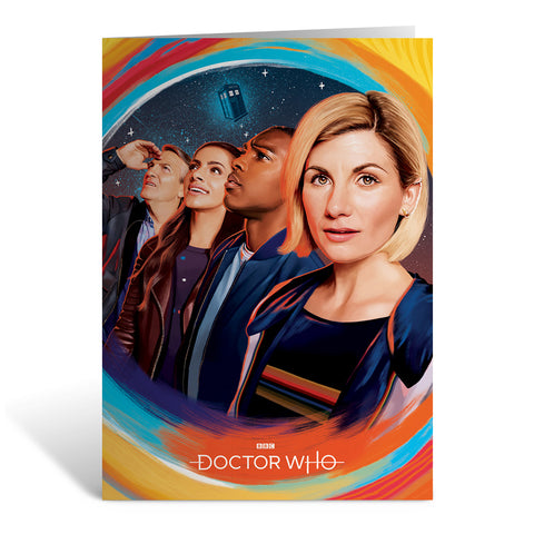 Thirteenth Doctor Group Greeting Card