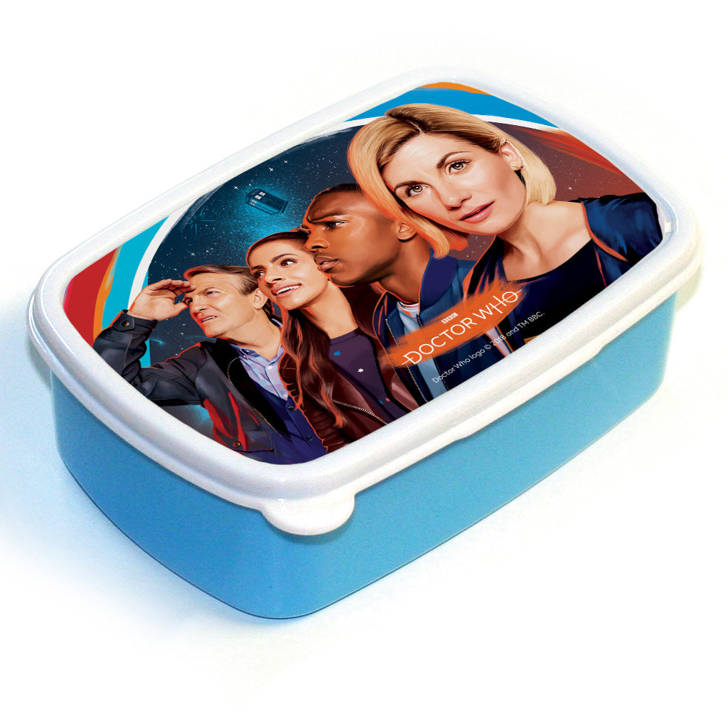 Thirteenth Doctor Group Lunchbox