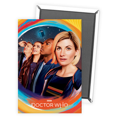 Thirteenth Doctor Group Magnet